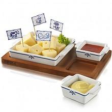 델프트 블루 타파스 치즈 컵